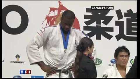 Judo : Teddy Riner rate l'exploit