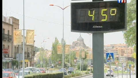Juillet froid, août très chaud, la faute au réchauffement climatique ?