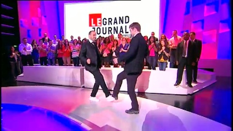 Justin Timberlake au Grand Journal