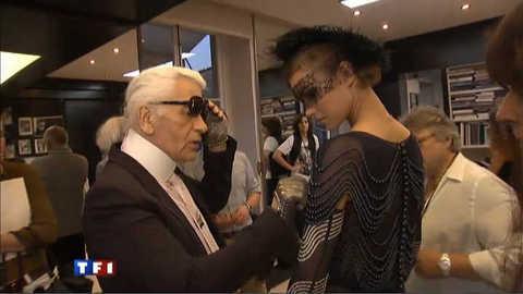 Karl Lagerfeld et Chanel, une histoire d'amour