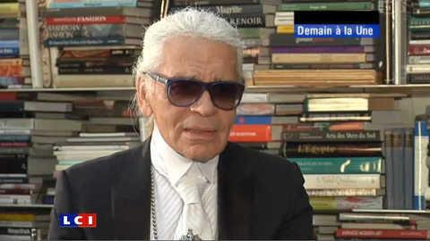 Karl Lagerfeld redessine le monde...