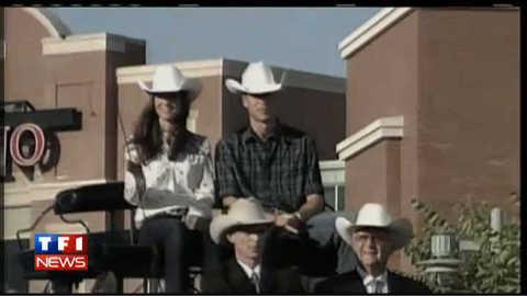 Kate et William enfilent l'habit de cow-boy