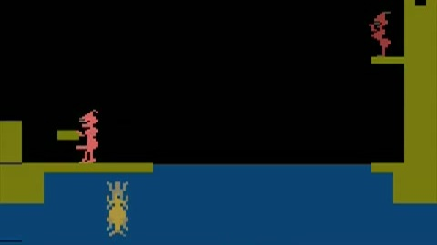 Knight On The Town(Atari 2600) Gameplay