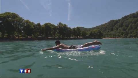 Le lac de Chalain, la merveille du Jura