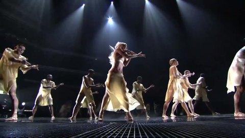 Lady Gaga - Born This Way (GRAMMYs on CBS)