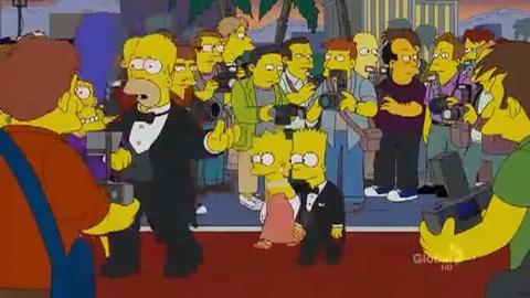 Lady GaGa dans Les Simpson Saison 23