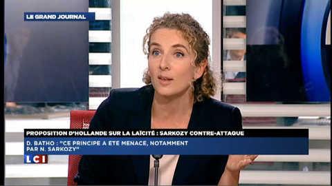 Laïcité : la réponse de Delphine Batho à Nicolas Sarkozy