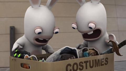 Les lapins crétins envahissent la Games Convention