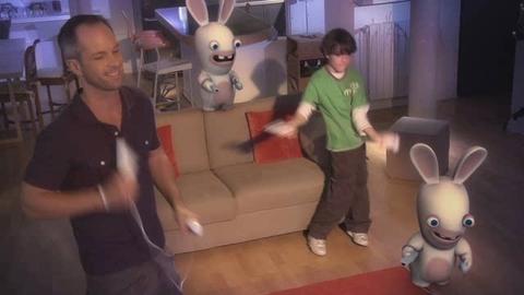 Les lapins crétins reviennent sur Wii