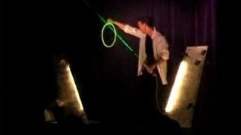 le laser magic (tour de magie)
