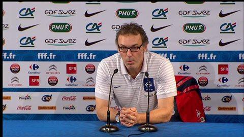 """Laurent Blanc : """"Je n'ai aucun problème avec Samir Nasri"""" (06/10/2011)"""