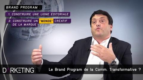 "Laurent Habib et ""la Communication Transformative"" dans Darketing N°16"
