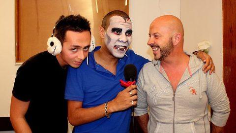 Laurent (Le prêtre de Secret Story) dans la Webreal tv halloween