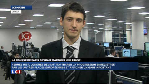 LCI - La Bourse de Londres du 3 janvier 2012