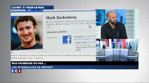 LCI EST @ VOUS le mag 1/2 : Facebook, bug ou pas bug?