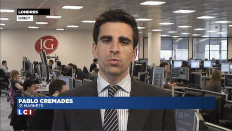 LCI - Le flash Bourse de la mi-journée du 7 juin 2012