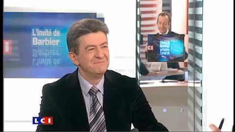 LCI - Jean-Luc Mélenchon est l'invité politique de Christophe Barbier