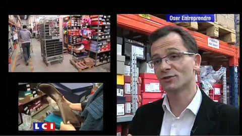 LCI - Oser Entreprendre du 30 janvier 2010:  Sarenza