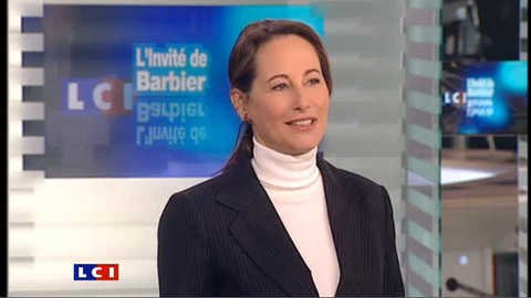 LCI - Ségolène Royal est l'invitée politique de Christophe Barbier