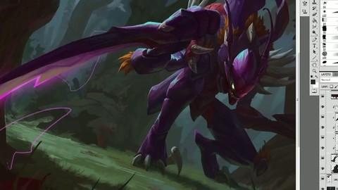 League of Legends - Kha'Zix Art Spotlight - PC