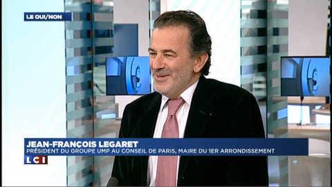 """Legaret """" En tant que Président du groupe UMP, je me suis gardé de prendre parti """""""