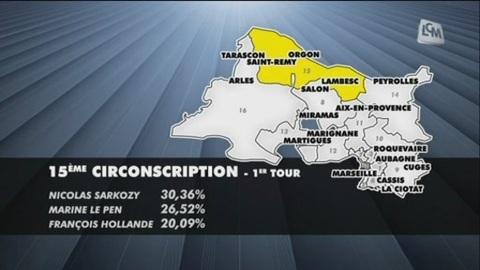 Législatives: la 15ème circonscription de Marseille