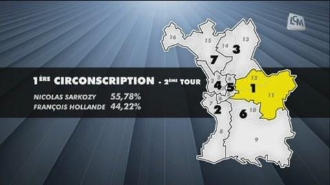 Législatives: la 1ère circonscription de Marseille