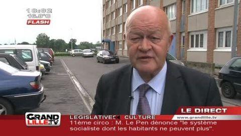 Législatives 2012 : Alain Cacheux (PS) confiant (Nord)