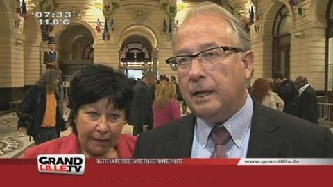 Législatives 2012 : Bernard Gerard confiant pour le 2ème tour (Nord)