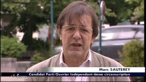 Législatives 2012: Marc SAUTEREY - POI (Essonne)