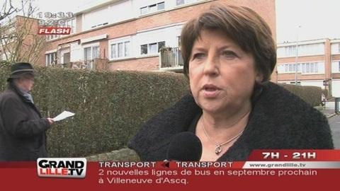 Législatives 2012 : Martine Aubry derrière Audrey Linkenheld (Nord)