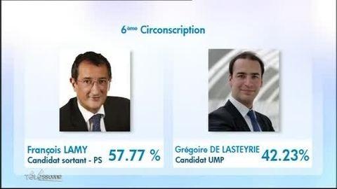Législatives 2012: Résultats définitifs en Essonne