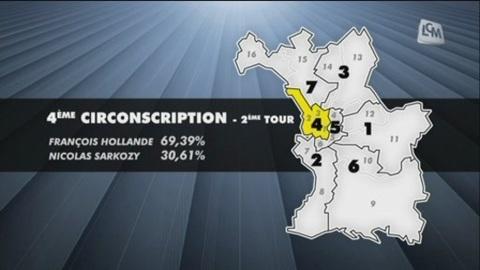 Législatives: la 4ème circonscription de Marseille