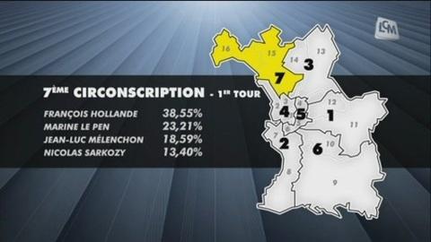 Législatives: la 7ème circonscription de Marseille