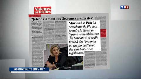 Législatives : Le Pen avance ses pions vers l'UMP