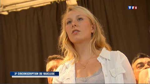 Législatives : la petite-fille de Le Pen en course dans le Vaucluse