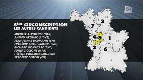 Législatives: les petits candidats de la 5è circ (Marseille)