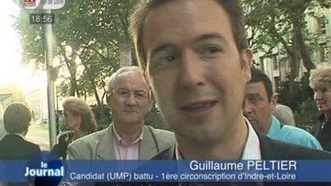 Législatives: réaction de Guillaume Peltier