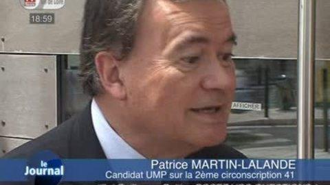 Législatives: réaction de Patrice Martin-Lalande