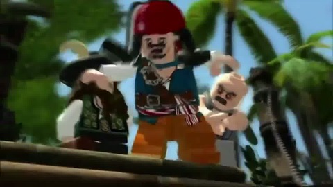 Lego Pirates of the Caribbean - Trailer - VF - PS3 Xbox360