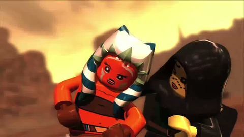 Lego Star Wars 3 The Clone Wars - Troopers Working out Trailer - PS3 Xbox360 Wii.mp4