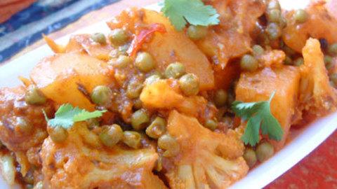 Légumes aux épices à la cocotte