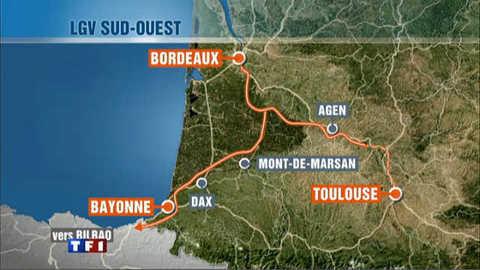 LGV Sud-Ouest : Urrugne, ne veut pas du TGV