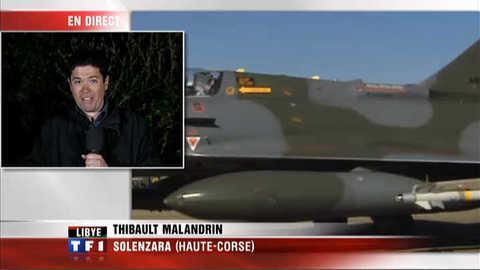 Libye : Solenzara, une base en première ligne