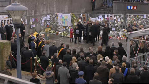 Liège et la Belgique rendent hommage aux victimes des attaques