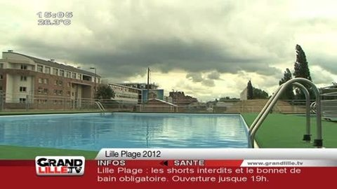 Lille Plage 2012 : A vos maillots !