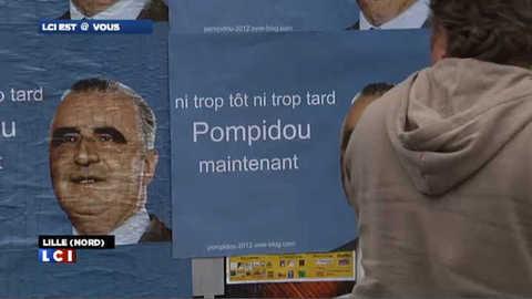 Des Lillois appellent à voter… Pompidou en 2012