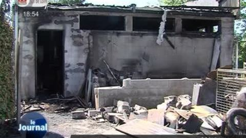 Limeray: un camping dévasté par un incendie