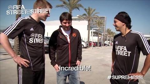Lionel Messi défié à FIFA Street