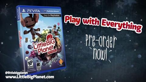 LittleBigPlanet - E3 2012 Trailer PS Vita